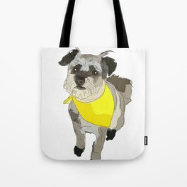 Thor the Rescue Dog Tote Bag