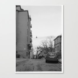 Streets in Stockholm Canvas Print