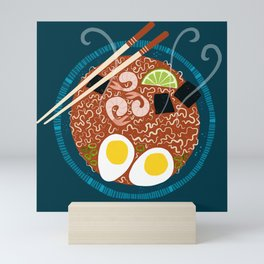 Ramen Noodles for Lunch Mini Art Print