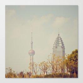 Shanghai Canvas Print