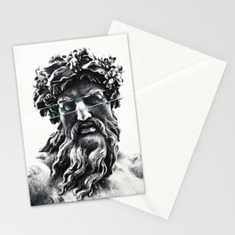 Zeus the king of gods Stationery Cards