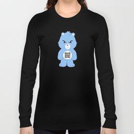 Honey bear qr Long Sleeve T-shirt