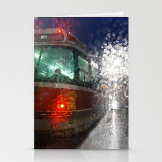 Rain Rider Stationery Cards