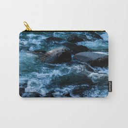 Like Stones Under Rushing Water Carry-All Pouch