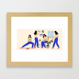 Smarter Living Framed Art Print