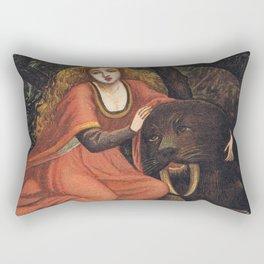 Beauty and the Beast Rectangular Pillow