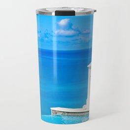 infinitely blue Travel Mug
