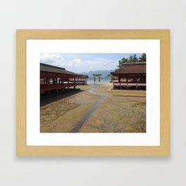 Itsukushima Shrine - Greg Katz Framed Art Print