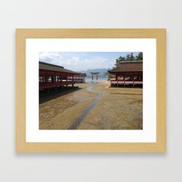 Itsukushima Shrine - Greg Katz Framed Art Print