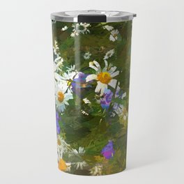 Chamomile and campanula Travel Mug