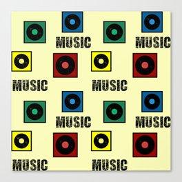 Music design Canvas Print