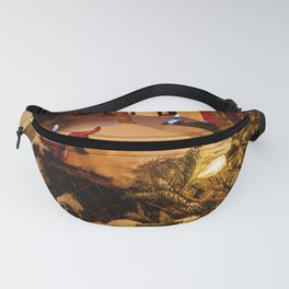 Snowy decorations Fanny Pack