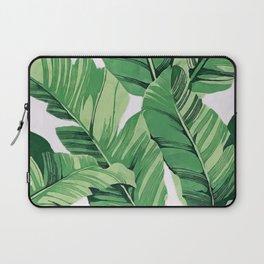 Tropical banana leaves V Laptop Sleeve