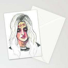 Kill Me Stationery Cards