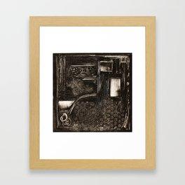Doorway to Where? Framed Art Print