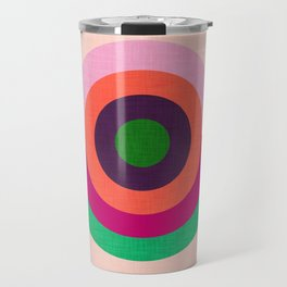 Solaris Pink  #homedecor #midcenturymodern #midcentury Travel Mug