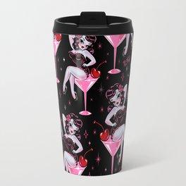Cherry Martini Girl Travel Mug