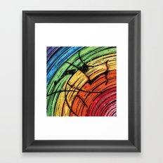 Orixás - Oxumaré Framed Art Print