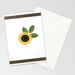 Simply Sunshine in a Flower Stationery Cards