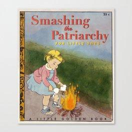 Smashing the Patriarchy Canvas Print