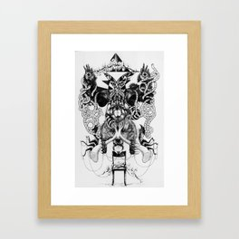 atua Framed Art Print