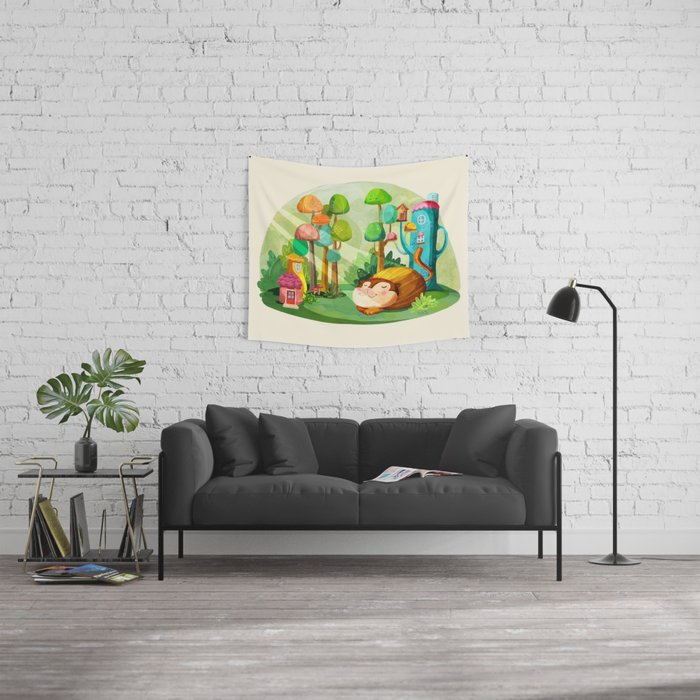 Naptime Wall Tapestry