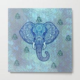 lord-Ganesh-symbol Art Metal Print
