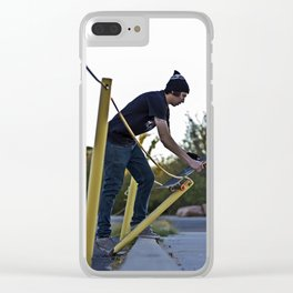 Testing The Waters Clear iPhone Case