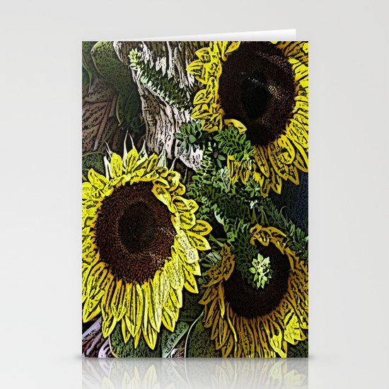 For the Sake of Sunflowers Stationery Cards