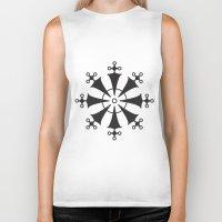 illuminati Biker Tanks featuring Illuminati by Henderson GDI