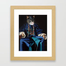 Chinese Zodiac - The Rat Framed Art Print