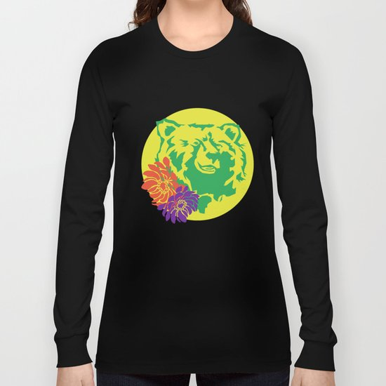 Hawaii Bear Anemone Long Sleeve T-shirt