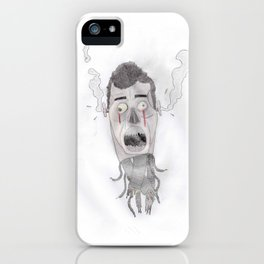 Android head iPhone Case
