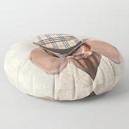 The stylish Mr Dachshund Floor Pillow