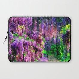 Wisteria garden Laptop Sleeve