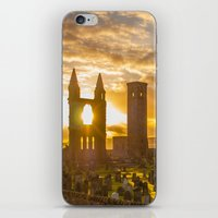 scotland iPhone & iPod Skins featuring Cathedral Scotland by Sierra Whiskey Bravo