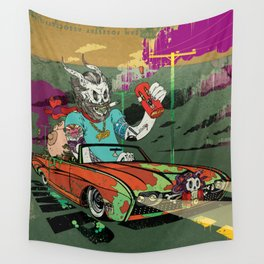 Arch Rival Wall Tapestry