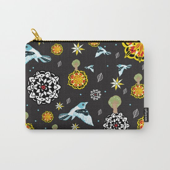 Flora forest Carry-All Pouch