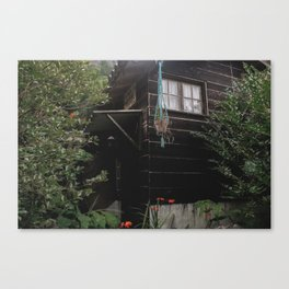 House up for sale Canvas Print