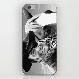 John Wayne @ True Grit #1 iPhone Skin