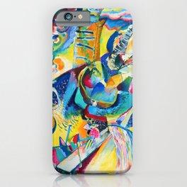 Wassily Kandinsky - Improvisation Gorge - Digital Remastered Edition iPhone Case