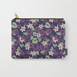 Modern take on the Liberty print Carry-All Pouch