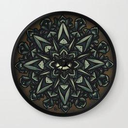 Mandala Eye Wall Clock
