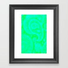 Paisley 2 Framed Art Print