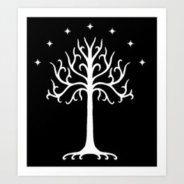 Tree(Gondor) Art Print