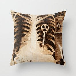 Tangential Efforts - The Abuses of Science Throw Pillow