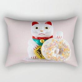 Maneki Donut Rectangular Pillow