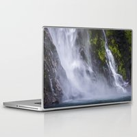 waterfall Laptop & iPad Skins featuring Waterfall.. by Michelle McConnell