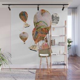 Hot Air Balloon Dream Wall Mural