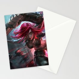 Classic Katarina League Of Legends Stationery Cards